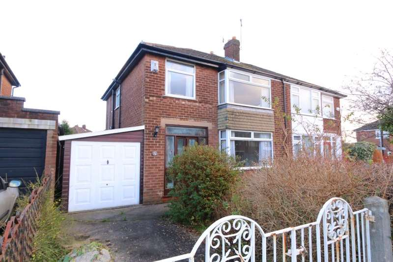3 Bedrooms Semi Detached House for sale in Rivermead Road, Denton, Manchester, M34