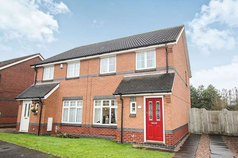 3 Bedrooms Semi Detached House for sale in Foxes Rake, Cannock, WS11