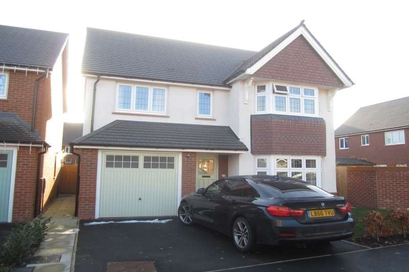 4 Bedrooms Detached House for sale in Norbreck Avenue, Crewe, CW2
