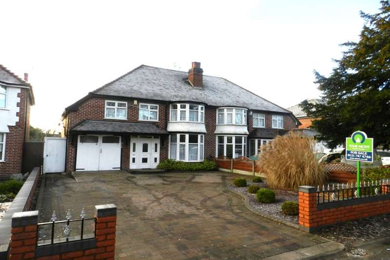 4 Bedrooms Semi Detached House for sale in Chester Road, Castle Bromwich, Birmingham, B36