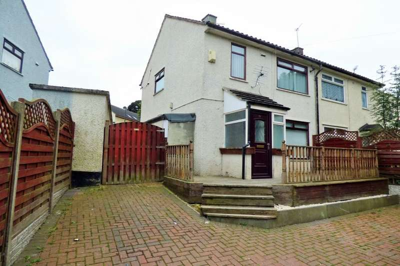 2 Bedrooms Semi Detached House for sale in Halesworth Crescent, Bradford, BD4
