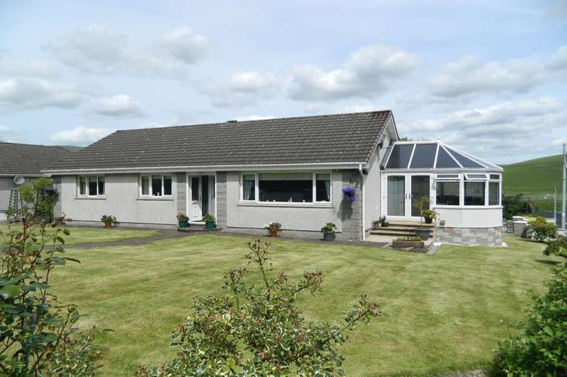 4 Bedrooms Detached Bungalow for sale in Carlisle Road, Crawford, Biggar, ML12