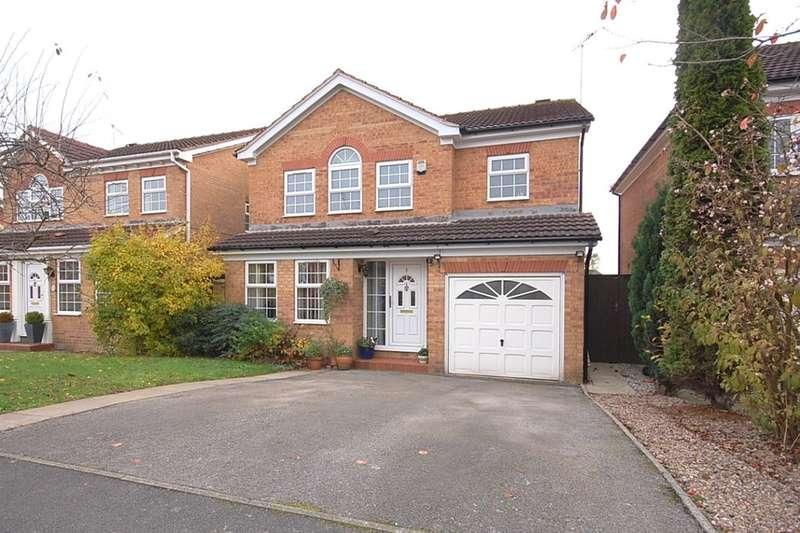 4 Bedrooms Detached House for sale in Harrier Road, Belper, DE56