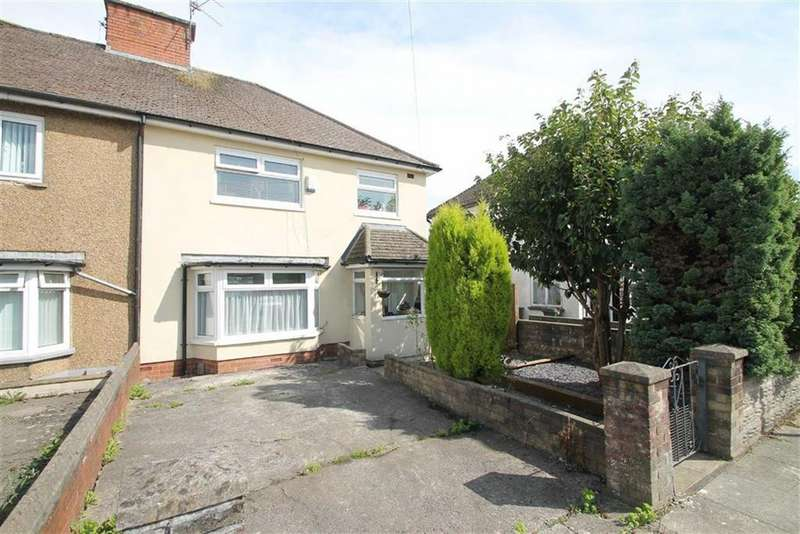 3 Bedrooms Semi Detached House for sale in Heol Powis, Cardiff