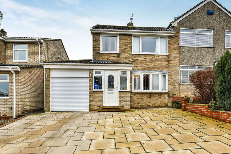 3 Bedrooms Semi Detached House for sale in Rosedale, Spennymoor, DL16