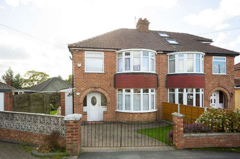 3 Bedrooms Semi Detached House for sale in Heather Bank, Osbaldwick, York, YO10