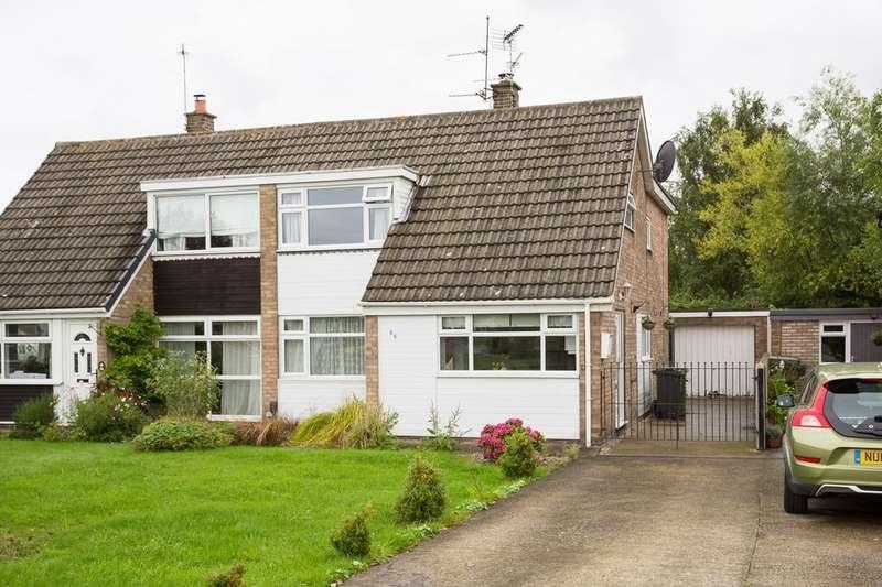3 Bedrooms Semi Detached House for sale in Bramble Dene, Woodthorpe, York, YO24