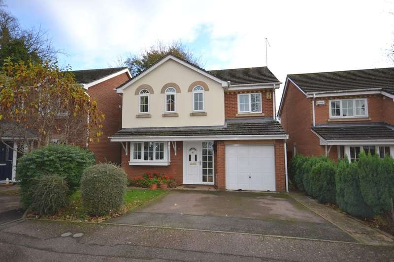 4 Bedrooms Detached House for sale in Valentine Way, Great Billing, Northampton, NN3