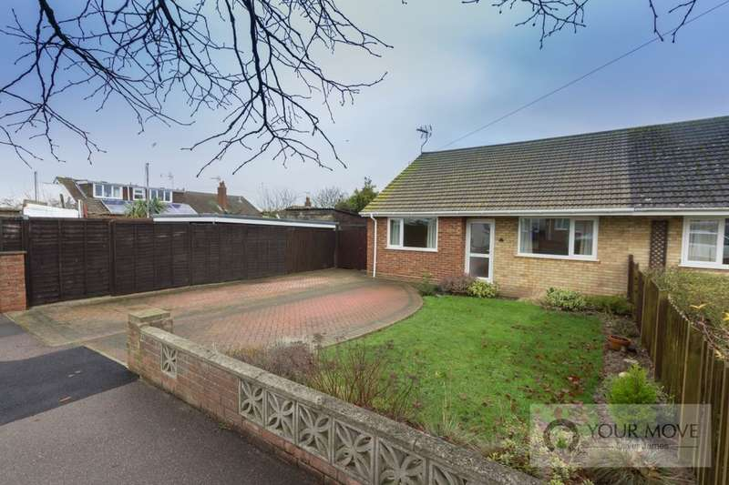 3 Bedrooms Semi Detached Bungalow for sale in Kilbourn Road, Lowestoft, NR33