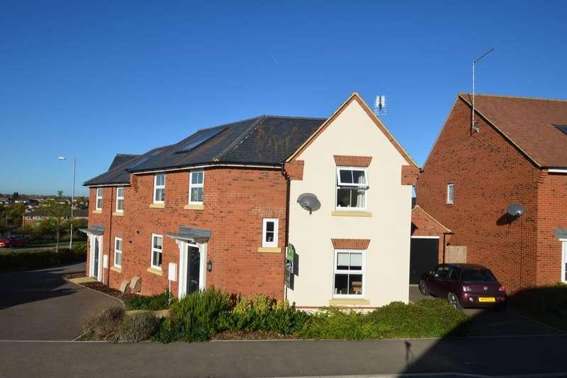 3 Bedrooms Semi Detached House for sale in Brands Hatch Close, Burton Latimer, Kettering, NN15