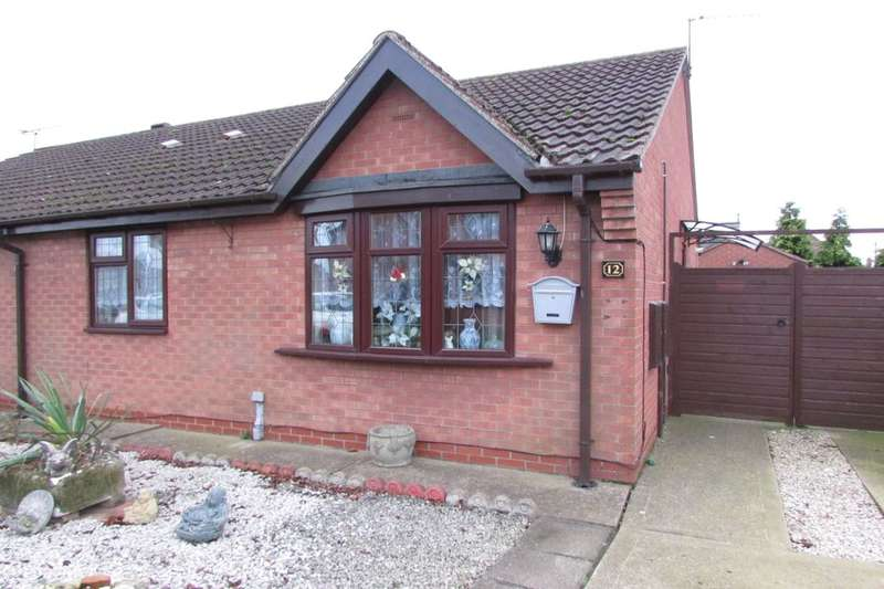 2 Bedrooms Semi Detached Bungalow for sale in Farm Close, Gunness, Scunthorpe, DN15