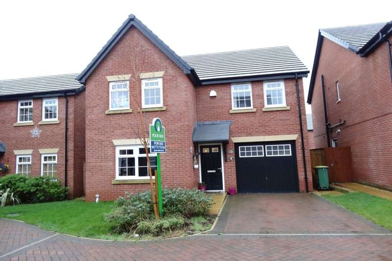 4 Bedrooms Detached House for sale in St. Edwards Chase, Fulwood, Preston, PR2
