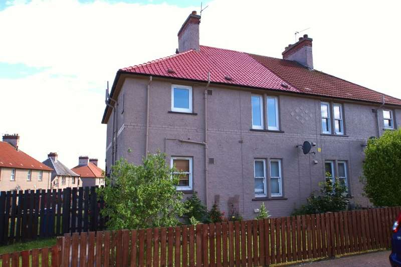 2 Bedrooms Flat for sale in Kirke Park, Methil, Leven, KY8