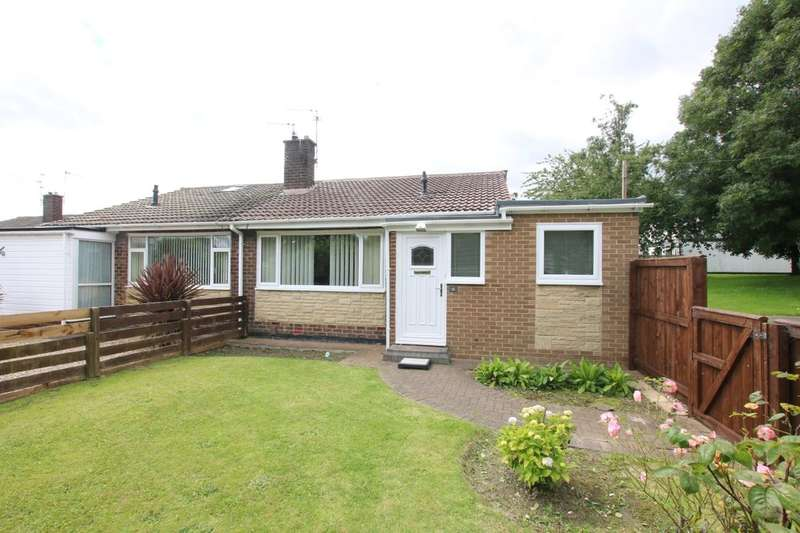 2 Bedrooms Semi Detached Bungalow for sale in Whinway, Washington, NE37