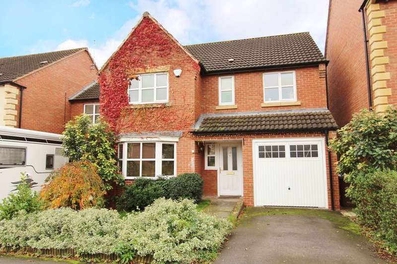 4 Bedrooms Detached House for sale in Tom Blower Close, Wollaton, Nottingham, NG8