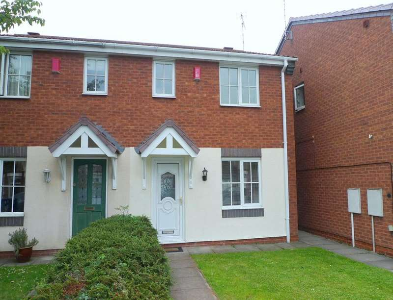 3 Bedrooms Semi Detached House for rent in The Crescent, Stafford, ST16