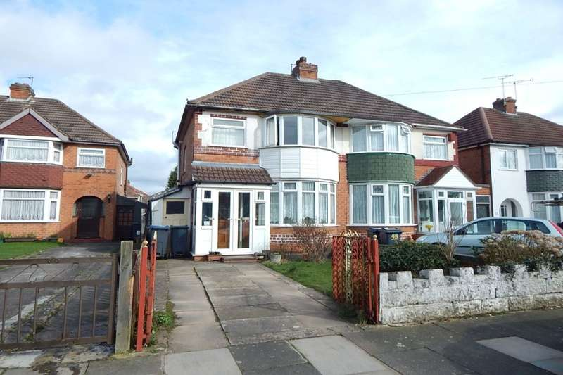 3 Bedrooms Semi Detached House for sale in Kingshurst Road, Birmingham, B31