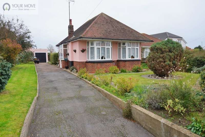 2 Bedrooms Detached Bungalow for sale in Beccles Road, Gorleston, Great Yarmouth, NR31