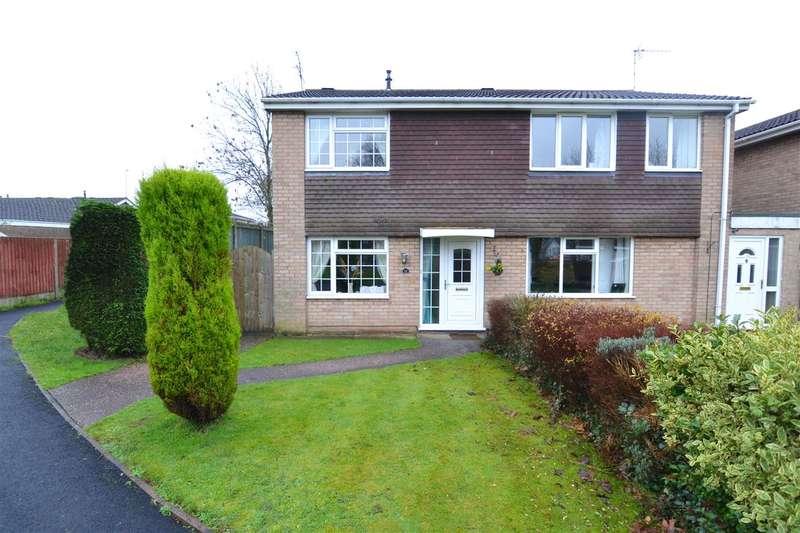 3 Bedrooms Semi Detached House for sale in Aldersleigh Drive, Wildwood, Stafford