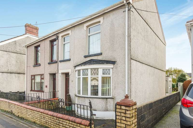 3 Bedrooms Semi Detached House for sale in Loughor Road, Gorseinon, Swansea