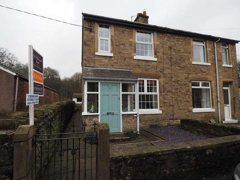 2 Bedrooms Semi Detached House for sale in Bingswood Road, Whaley Bridge, High Peak, Derbyshire, SK23 7NB