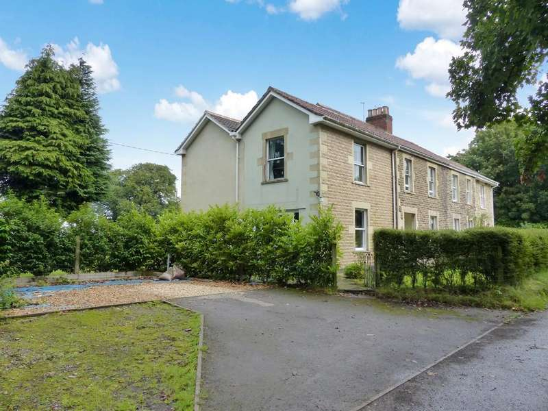 4 Bedrooms Semi Detached House for sale in Park Cottages, Corsley