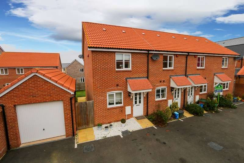 2 Bedrooms End Of Terrace House for sale in Higher Meadow, Cranbrook