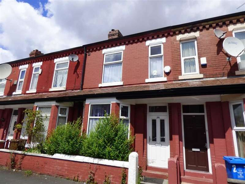 3 Bedrooms Terraced House for sale in Ruskin Avenue, Rusholme, Manchester, M14