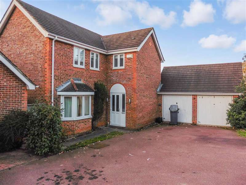 4 Bedrooms Detached House for sale in Nursery Field, , Buxted, Uckfield, East Sussex