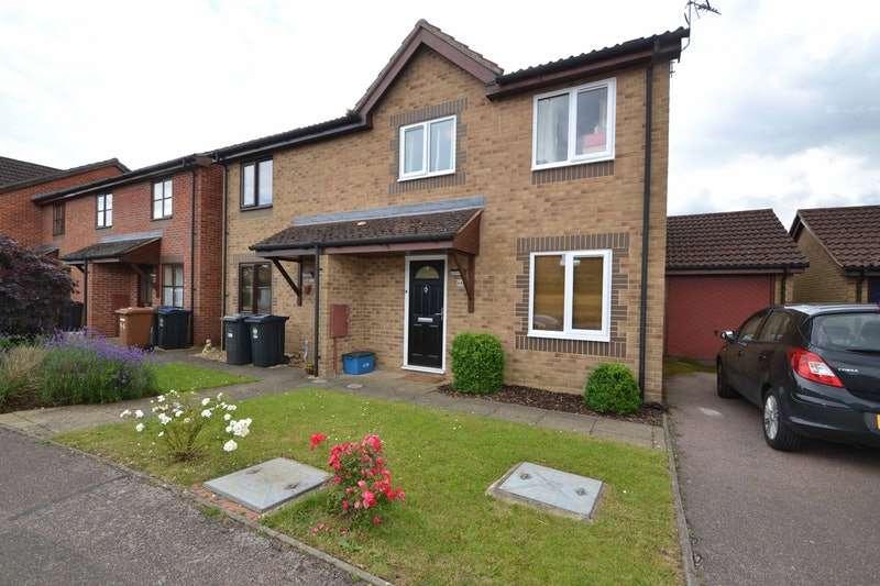3 Bedrooms Semi Detached House for sale in Dukes Ride, Bishop's Stortford, Hertfordshire, CM23