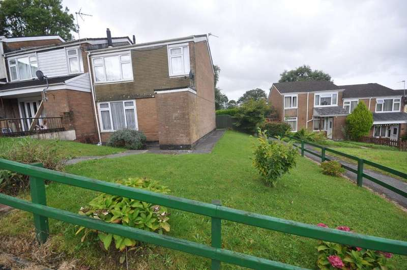2 Bedrooms End Of Terrace House for sale in 17 HAULFRYN, TREGYNWR, CARMARTHEN, SA31 2DS