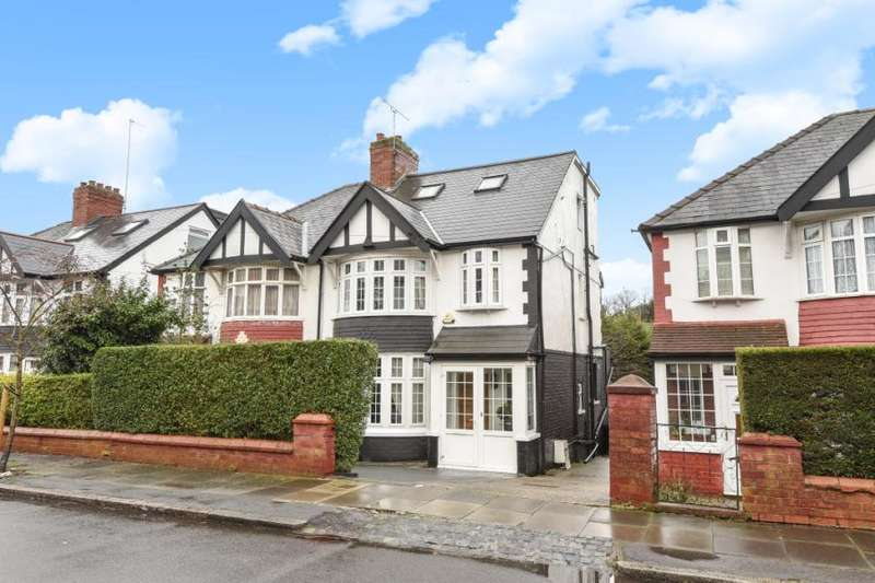 4 Bedrooms Semi Detached House for sale in Ferncroft Avenue, Finchley
