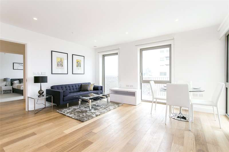 1 Bedroom Flat for sale in Rathbone Market, London, E16