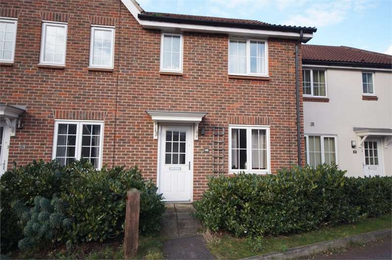 2 Bedrooms Terraced House for sale in Beatty Rise, Spencers Wood, READING, Berkshire