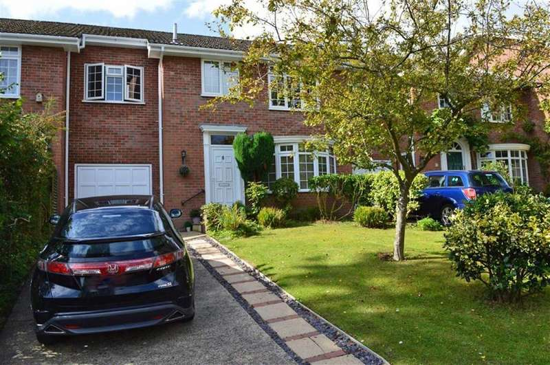 4 Bedrooms Terraced House for sale in Oakdene Close, Wimborne, Dorset