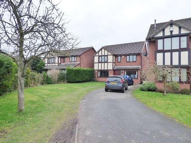 4 Bedrooms Detached House for sale in Newbridge Close, Callands, Warrington