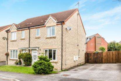 3 Bedrooms Semi Detached House for sale in Blackberry Court, Clowne, Chesterfield, Derbyshire