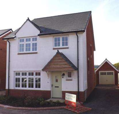 4 Bedrooms Detached House for sale in Shutterton Lane, Dawlish, Devon