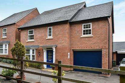 4 Bedrooms Detached House for sale in Flora Lane, Measham, Swadlincote