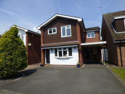 4 Bedrooms Detached House for sale in Plackett Close, Breaston, Derby