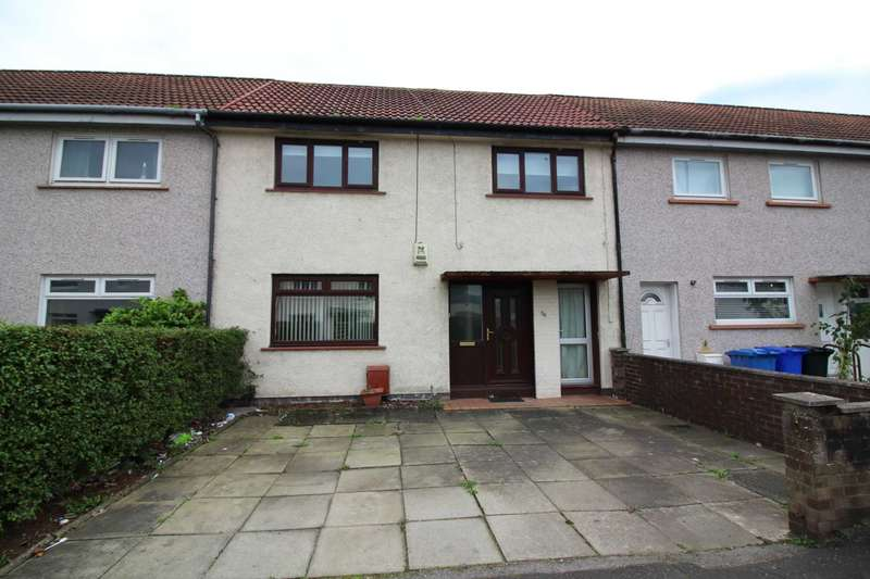 3 Bedrooms Terraced House for rent in Dickson Drive, Irvine