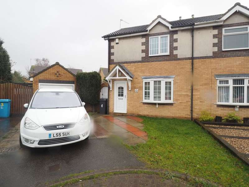 2 Bedrooms Semi Detached House for sale in Consort Court, Victoria Dock, Hull, HU9 1PU