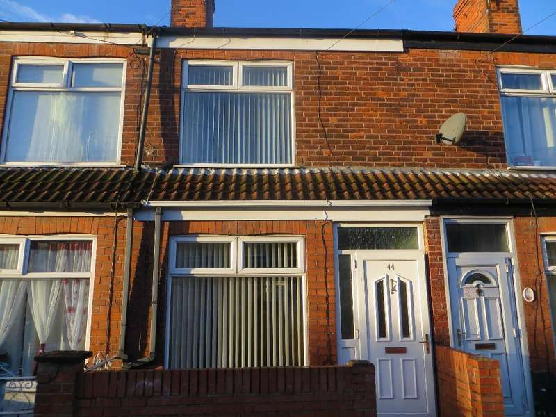 2 Bedrooms Terraced House for sale in Dorset Street, Hull, HU4 6PP