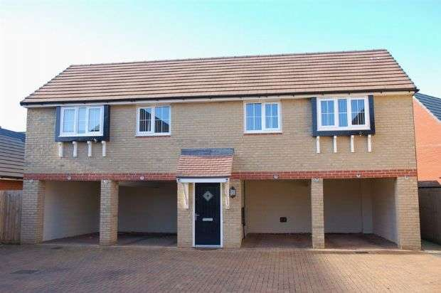 2 Bedrooms Flat for sale in Oak Row, Brixworth, Northampton NN6 9WQ