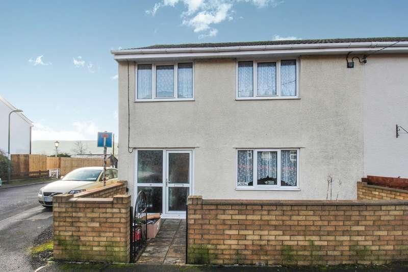 3 Bedrooms End Of Terrace House for sale in Chapel Road, Nantyglo, Ebbw Vale, NP23