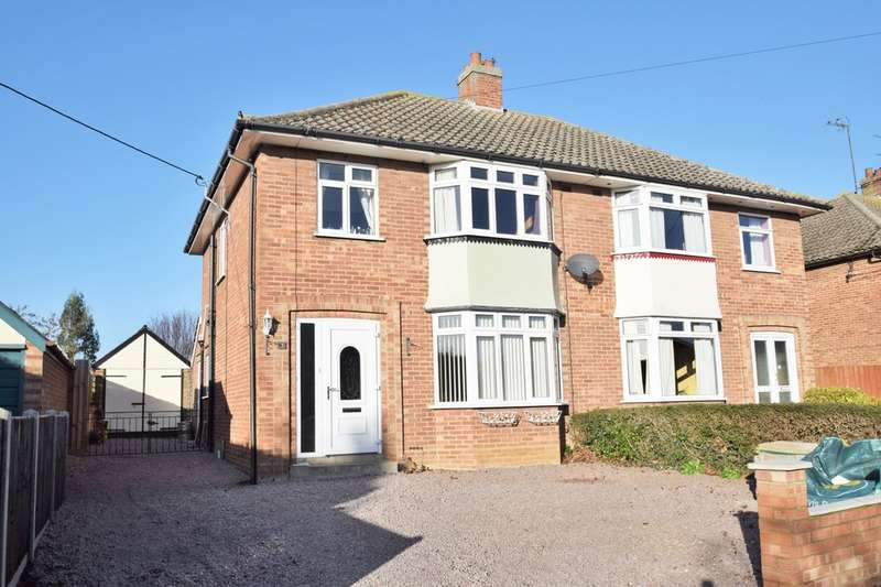 3 Bedrooms Semi Detached House for sale in Windermere Road, Stowmarket