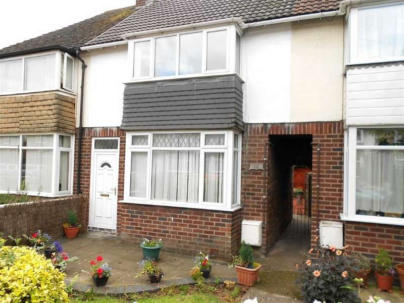 2 Bedrooms Terraced House for sale in Micklewright Ave, Crewe, Cheshire
