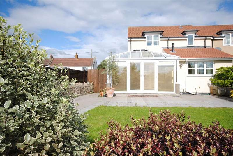 3 Bedrooms End Of Terrace House for sale in Riverside Cottages, Turnpike Road, Lower Weare, Axbridge, BS26