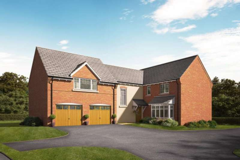 4 Bedrooms Detached House for sale in The Hollies, Gnosall, Stafford, ST20