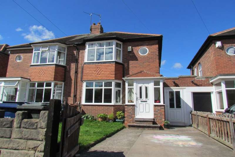 2 Bedrooms Semi Detached House for sale in Ridgewood Gardens, Newcastle Upon Tyne, NE3
